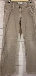 Old Navy Tan Corduroy Stretch Pants